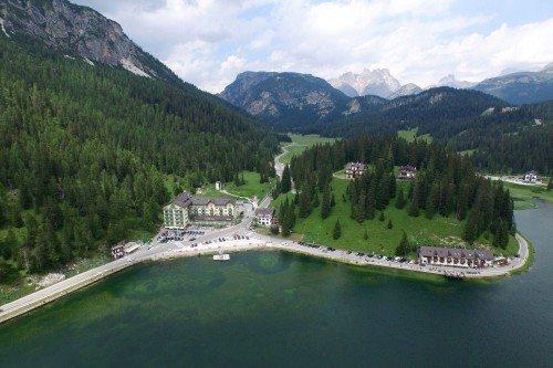 lac de misurina, les dolomites italie