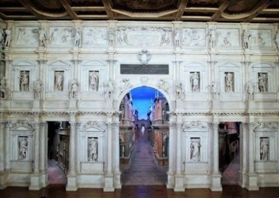 Olympic theatre Vicenza day tour, masterpeace of andrea palladio, a first example of covered theatre. to visit during a guided excursion