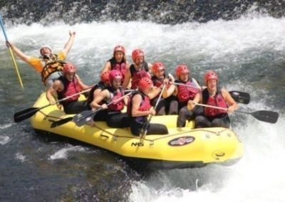 Brenta river rafting outdoor activities