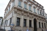 Thiene Bonin Longare palace by Andrea Palladio in the historical center of Vicenza. Walking tour by Sightseeing in Italy
