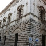 Thiene palace by Andrea Palladio in the historical center of Vicenza. City tour, walking tour by Sightseeing in Italy.