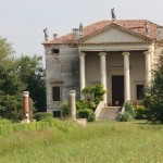 Villa Chiericati Da Porto Rigo by andrea palladio in the area of Vicenza, town in UNESCO World Heritage list.