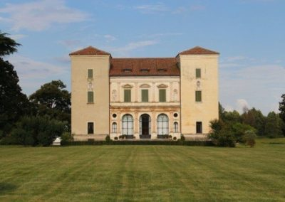 Villa Trissino Trettenero by palladio, located in Vicenza a unesco world heritage.