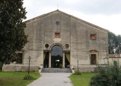 Villa Valmarana Bressan by Palladio in the province of Vicenza listed on unesco world heritage.