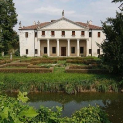 Villa Valmarana Scagnolari Zen by Palladio, located in the province of Vicenza.