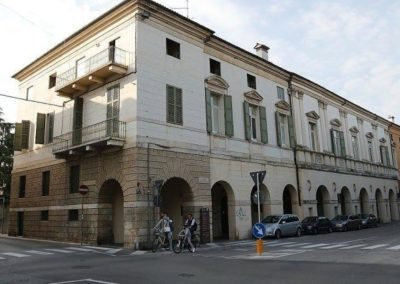 Civena Trissino palace by andrea palladio, historical centre of Vicenza, to visit by walking tour