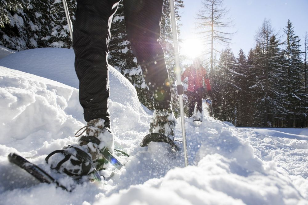 Snowshoeing tours Dolomite mountains