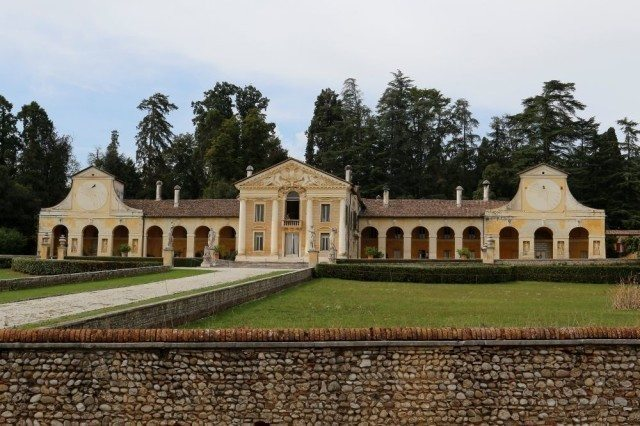 Villa Barbaro Volpi by Andrea Palladio, with frescoes by Paolo Veronese, a unesco heritage site. Excursion, day tour, sightseeing in italy in veneto region