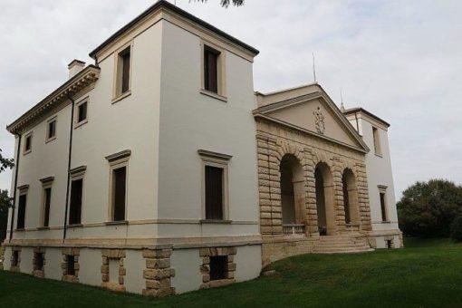 Villa Pisani Bonetti à Bagnolo di Lonigo, de andrea palladio, patrimoine mondial de l'unesco. Excursion d'une journée, tourisme en italie dans la région de la Vénétie