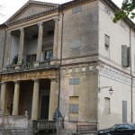 Villa Pisani in Montagnana by andrea palladio, unesco world heritage