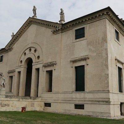 Villa Pojana de Andrea Palladio, Patrimoine mondial de l'unesco. à visiter pendant une excursion d'une journée avec Tourisme en Italie. Région de la Vénétie, pour les villas palladiennes