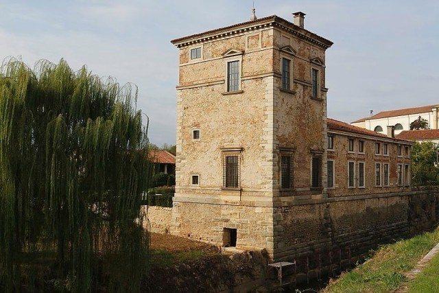 Villa Trissino Meledo di Sarego by andrea palladio, unesco world heritage