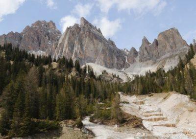 Mont Cristallo des Dolomites