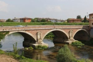 Bridge over the River Tesina Palladio took as his model the bridge of Augustus and Tiberius built between 14 and 21 AD in Rimini