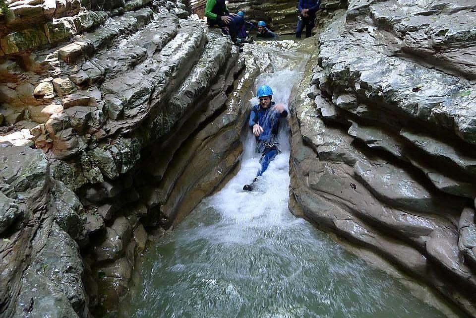 Canyoning Veneto region