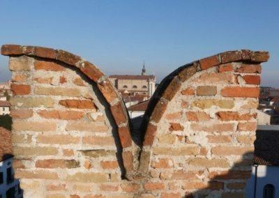 Cittadella walls particular