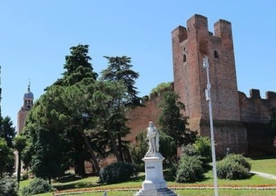 Castelfranco walled medieval town