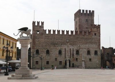 Marostica Chess square