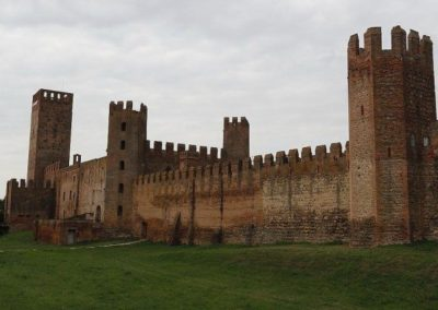 Montagnana medieval walled town, close to Padua, with a middle ages fortification. To visit during a day tour excursion