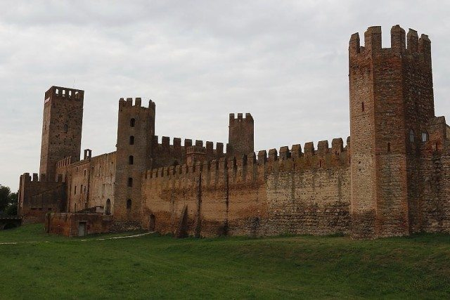 Montagnana medieval walled town middle ages