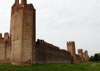 Montagnana medieval walls