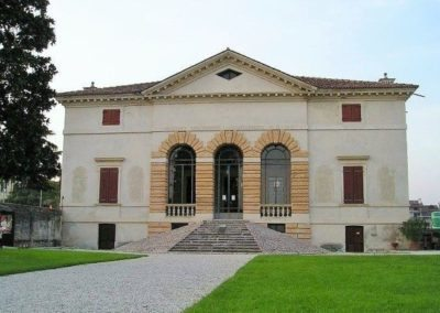 Villa Caldogno by Andrea Palladio, located close to the town of Vicenza. Monument included in the UNESCO World Heritage List.