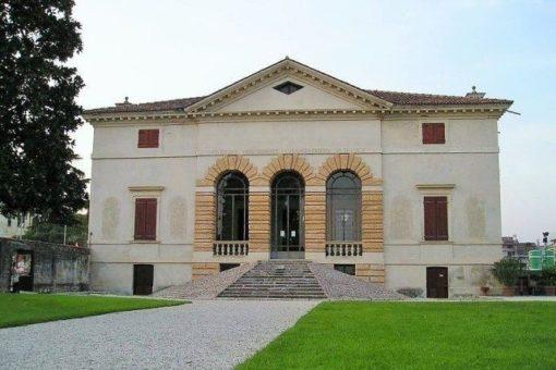 Villa Caldogno close to Vicenza, made by Palladio and included in the UNESCO World Heritage List.