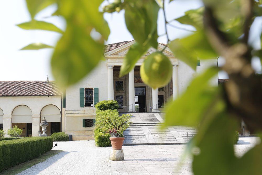 Villa Emo de Palladio en Vénétie, avec des fresques de Zelotti