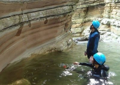 Easy canyoning 3