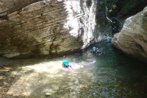 Easy canyoning 6