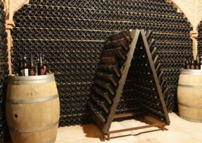 Durello wine region aging cellar