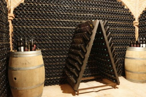 Durello wine region aging cellar
