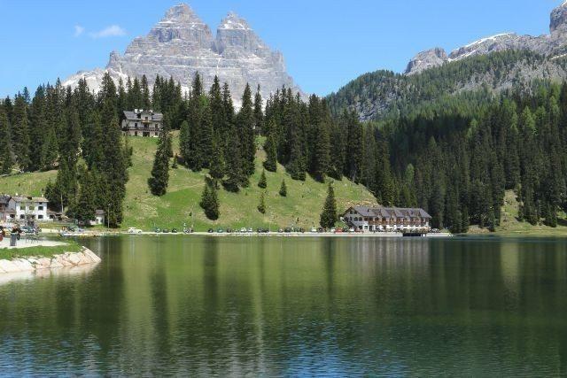 Lac de Misurina randonnée d'une journée avec chauffeur professionnel, les Dolomites site du patrimoine mondial de l'Unesco