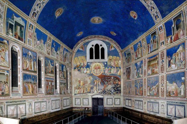 padua university town scrovegni chapel with giotto frescoes to visit during walking guided tour