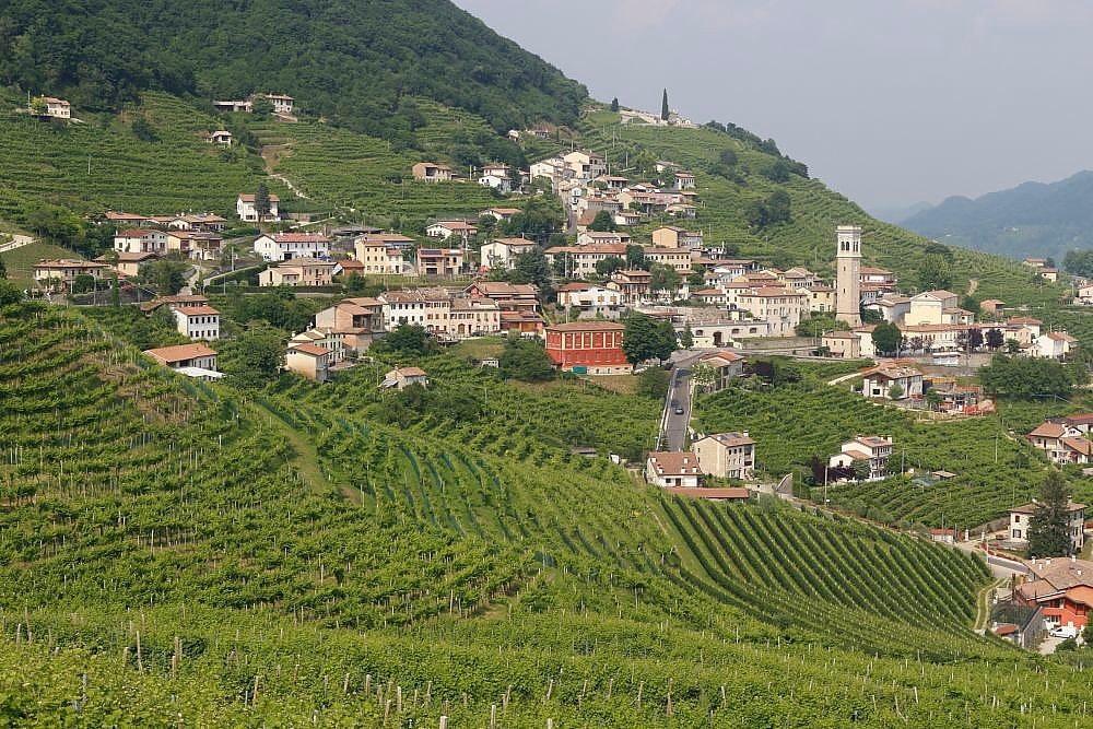 Région du Prosecco randonnée journaliére
