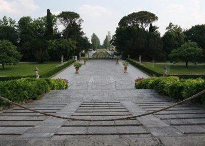 Villa Emo entrance view