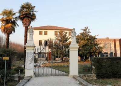 Villa Marignana Benetton between Treviso and Venice