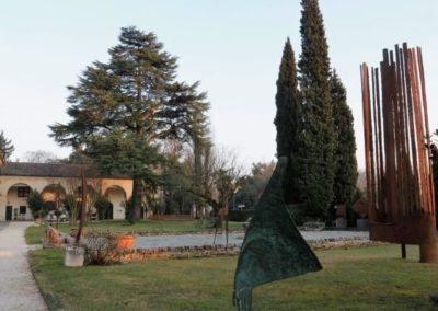 Villa Marignana Benetton l'entrée