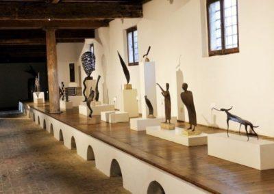 Villa Marignana Benetton statues collection