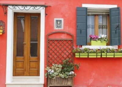 Burano island - northern lagoon of Venice
