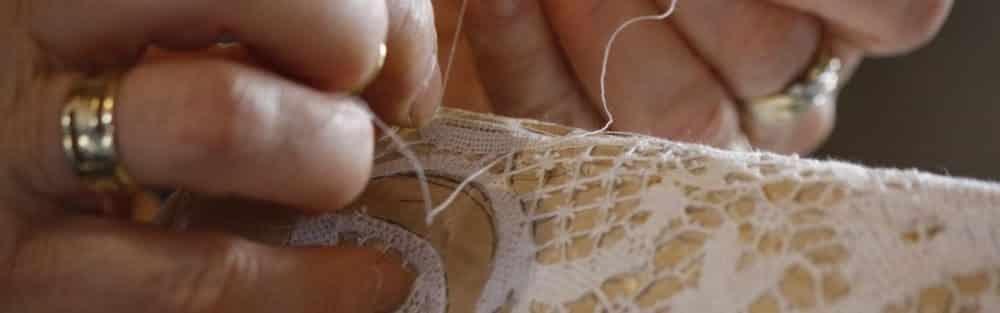 Burano lace maker Venice lagoon
