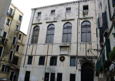 Synagogue Scola Spagnola ou Ponentina, sestriere de cannaregio, Venise Italie