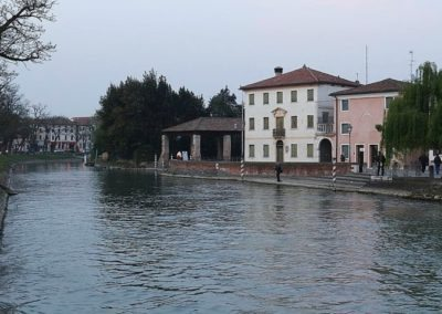 Brenta canal Dolo center