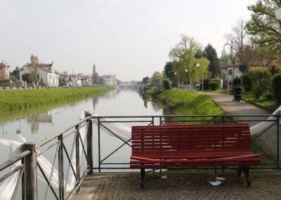 Brenta canal in Oriago