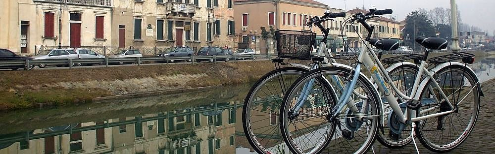 Cycling along Brenta riviera, the Veneto cycle routes