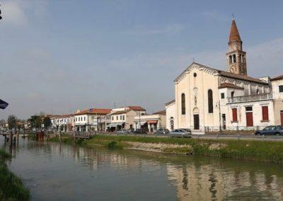 Oriago along Brenta Canal