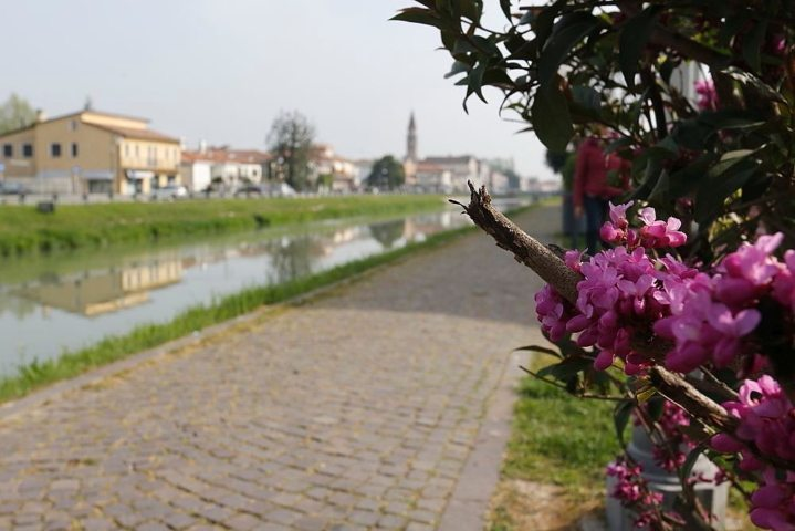 View on the Brenta canal in Oriago