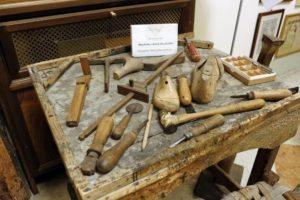 shoemaker tools Villa Foscarini Museum