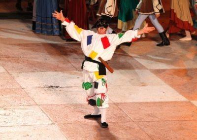 Jeu d'échecs de Marostica, l'arlequin