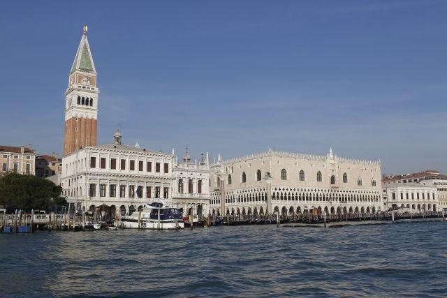 Venise ville d'art et sa lagune place saint Marc, région de la Vénétie, à visiter à pied avec une guide